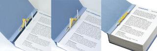 PLUS JAPAN Classeur d'archives ZEROMAMAX, A4 large, vert