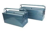 BRÜDER MANNESMANN boîte à  outils en métal, Longueur: 430