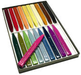 Gutenberg Cire à cacheter, couleurs assorties