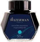 WATERMAN Flacon d'encre, contenu: 50 ml, bleu inspiration