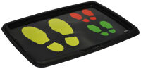 ok Plateau pour chaussures 'Footprints', (L)550 x (H)400 mm