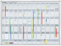 FRANKEN Tableau planning JetKalender, calendrier annuel