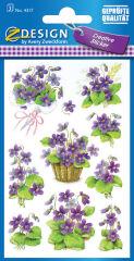 AVERY Zweckform Sticker ZDesign 'violettes'