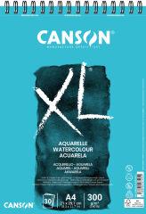 CANSON Bloc à croquis et études XL Aquarelle, A4