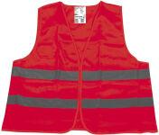 IHW Gilet de sécurité, norme EN 471, polyester, jaune