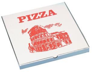 STARPAK Carton de pizza, carré, 300 x 300 x 30 mm