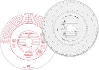 RNK Verlag Disque à diagramme HAUG, 180 km/h, automatique