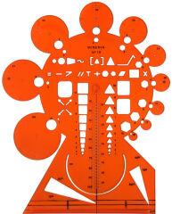 MINERVA Trace-circonférences, No 19, Grand Modèle