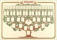 RNK Verlag Arbre généalogique 'arbre esquissé', 70 x 50 cm