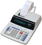 SHARP Calculatrice imprimante de bureau CS-2635 RH GY-SE