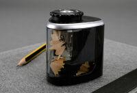 Alassio Taille-crayons électrique, noir transparent
