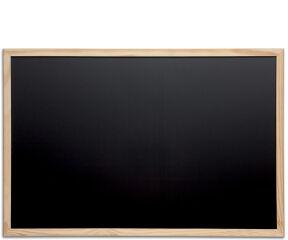 MAUL Tableau avec cadre en bois, (L)900 x (H)600 mm, noir
