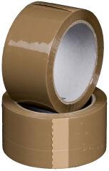 smartboxpro Ruban d'emballage, PP, 50 mm x 66 m, marron