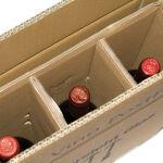 smartboxpro Cartons d'expédition pour 3 bouteilles