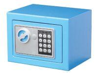 phoenix Coffre-fort anti-effraction COMPACT, bleu