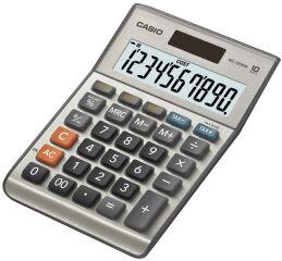CASIO Calculatrice de bureau MS-100 BM, solaire / pile
