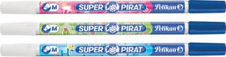 Pelikan Effaceur d'encre Super Pirat 850F, fin, carte