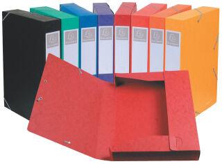 EXACOMPTA Boîte de classement Cartobox, A4, 25 mm, noir