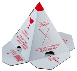 smartboxpro pyramide à palette 'ne pas empiler'