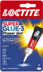 LOCTITE SUPER GLUE-3 Colle instantanée 'Gel', formule gel