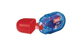 tesa ecoLogo Mini roller de colle jetable, permanent