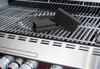 Scotch-Brite Eponge de nettoyage pour BBQ, couleur: noir