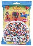 Hama Perles à repasser midi 'perles à rayures Mix 90', dans