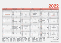 Glocken Tischkalender 'Tafelkalender', 2019, DIN A5 quer