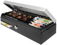 Safescan tiroir caisse 'HD-4617C Heavy Duty Flip-top', noir