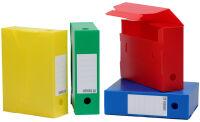 extendos Boîtes d'archives, PP, 100 mm, coloris assortis