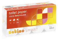 wepa Papier hygiénique Smart, 2 couches, blanc