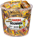 HARIBO Bonbons gélifiés aux fruits Ours d'or mini, boîte