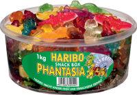 HARIBO bonbons gélifiés aux fruits PHANTASIA, boîte ronde de