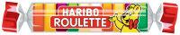 HARIBO bonbons gélifiés aux fruits ROULETTE en rouleau, 25 g