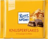 Ritter SPORT plaquette de chocolat CORN FLAKES, 100 g