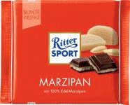 Ritter SPORT tablette de chocolat PATE D'AMANDE, 100 g