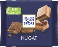 Ritter SPORT Tablette de chocolat NOUGAT, 100 g