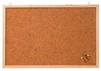 FRANKEN tableau en liège 'Memoboard', 1.000 x 600 mm, marron