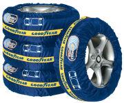 GOODYEAR Kit de housses de protection pour pneus, 4 pièces