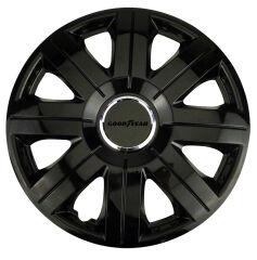 GOODYEAR Enjoliveur de roue 'Flexo', 14' (35,56 cm), noir