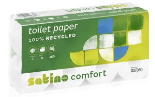 satino by wepa Papier hygiénique Comfort, 2 couches, extra
