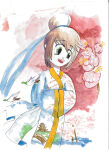 SAKURA stylo pinceau Koi Coloring Brush, étui de 24