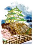 SAKURA Stylo pinceau Koi Coloring Brush, étui de 48