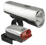 FISCHER Kit d'éclairage LED pour vélo 20/10 Lux