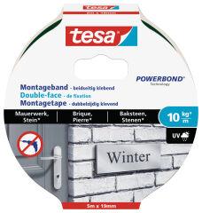 tesa Adhésif double face de montage Powerbond pour brique