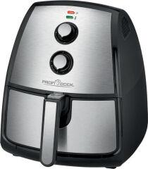 PROFI COOK Friteuse à air chaud PC-FR 1115 H, noir/acier