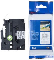 brother FLe-2511 Cassette à ruban, noir / blanc
