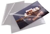proOFFICE Pochette perforée, A4, film PP, transparent