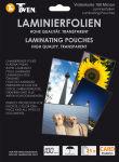 TWEN pochette à plastifier pour cartes de visite, 60 x 90 mm