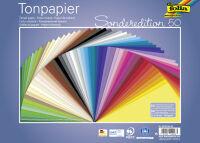 folia Papier de couleur, (L)250 x (H)350 mm, 130g/m2